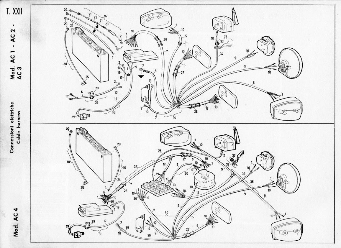 Schema Elettrico Ape Tm 703 : Ricambi ape piaggio