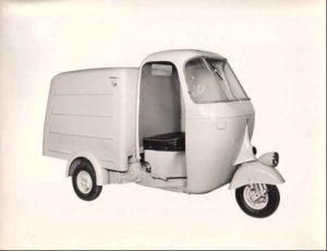 Motofurgone e cabina (senza porte)